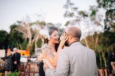 casamento rock vestido de noiva com spikes inspiração linda