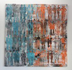 Jutta Hellbach, textile Kunst, Ausstellung Wenn die Chemie stimmt