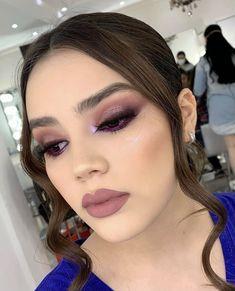 Makeup Inspo, Makeup Inspiration, Makeup Tips, Beauty Makeup, Eyeshadow Looks, Eyeshadow Makeup, Luminous Makeup, Makeup Looks For Brown Eyes, Night Makeup