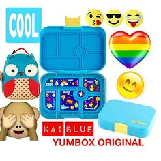 #TooCoolForSchool 😎 #New #KaiBlue #YumboxOriginal with the brand new #emoji tray 🌈 ⚡️🔥😘#Yumbox #Kawaii collection 💖#YumboxLove #YumboxPH 😍 #KitchenTools #MomHack #yumboxbaonideas #baonideas #baon #lunchboxideasph #lunchboxideas #lunchbox #lunchboxloveph  #snackideasph #SnackIdeas  #packedlunch #letsmakelunchfun #lunch #bento #bentobox 🌟#WhatsInMyYumbox #backToSchool #SchoolLunch #ToddlerLunch #ToddlerSnacks  Yummery - best recipes. Follow Us! #kitchentools #kitchen