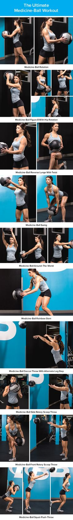 Med Ball Workout | Posted By: AdvancedWeightLossTips.com