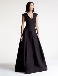 Silk Faille Structured Gown Structured Wedding Dresses, Structured Gown, Halston  Heritage, Evening Gowns 01afa50f5c08