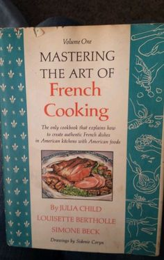 1973 HB Julia Child Mastering the Art of French Cooking Vol 1 54576