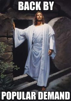 Back By Popular Demand funny easter jesus holy easter memes funny easter memes easter meme pictures jesus memes Funny Christian Memes, Christian Humor, Funny Easter Memes, Funny Memes, Easter Memes Jesus, Jesus Easter, It's Funny, Easter Jokes, Funny Quotes