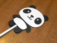 Panda Cupcake Toppers - Set of 12 - Panda Birthday Party. $12.00, via Etsy.