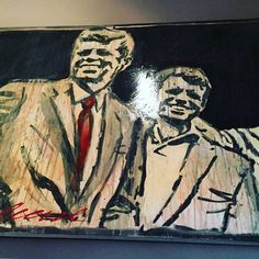 Friday Art Attack at the Operncafé! We love Mike Kuhlmann's work of art, all hanging in our restaurant! Drop by and take a look  #jfk #art #artist #artwork #drawing #draw #design #sketch #artoftheday #pencil #painting #love #illustration #instagood #sketchbook #creative #artistic #style #picoftheday #pen #painter #ink #graphic #beautiful #frankfurt #portrait