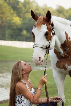 Pamela Greer Photography Senior Girl with her Horse
