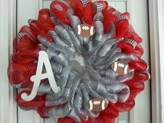 Alabama Football Wreath....