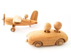 Beautifully designed wooden toys and a price tag to match!