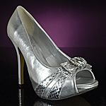 super Silver shoes