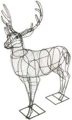 Topiary Deer