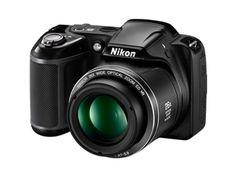 Nikon L330 Super Zoom Camera Black $219.00 from Noel Leeming