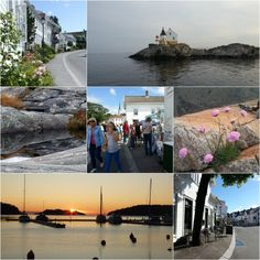 Lillesandcollage Kristiansand, Small Towns, Norway, Places, Lugares