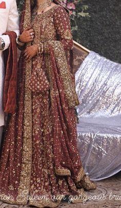 Pakistani Fashion Party Wear, Pakistani Wedding Outfits, Indian Bridal Outfits, Indian Fashion Dresses, Indian Bridal Wear, Dress Indian Style, Pakistani Dress Design, Pakistani Dresses, Indian Wedding Gowns