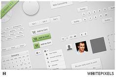 Whitepixels UI v1.1 by Picseel on Creative Market