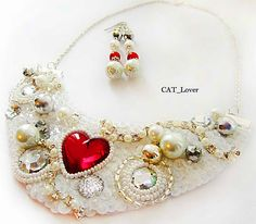 Beauitiful jewelry in St.Valentine`s Day style | Beads Magic