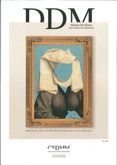 """Primer número de la revista """"Diseño de Moda: teoría e historia de la indumentaria"""" publicada por el Centro Superior de Diseño de Moda de Madrid"""