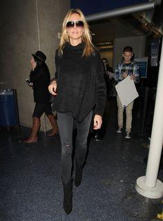 Heidi Klum Photos: Heidi Klum Lands At LAX Airport