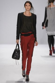 See the complete Rebecca Minkoff Fall 2012 Ready-to-Wear collection.