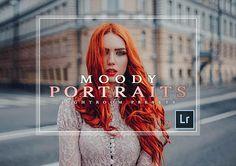 Lightroom Moody Portrait Presets, overlay filters, Portrait Preset, Portrait preset Instagram Filter, Lightroom cc, Instagram Overlay