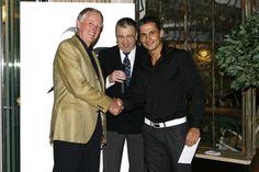 Recieving  a 10 year award Luis Guerreiro