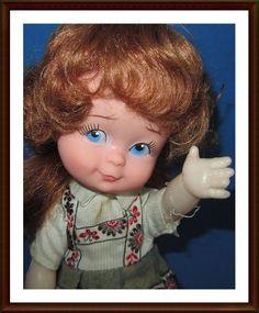 Ancienne poupée vintage (environ 25 CM) - rda??? in Antiquitäten & Kunst, Antikspielzeug, Puppen & Zubehör | eBay