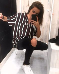 47 Elegant Tomboy Teenage Ideas For Fall Winter Tomboy outfits Hipster outfits . Queer Fashion, Tomboy Fashion, Fashion Outfits, Androgynous Fashion Women, Punk Fashion, Androgynous Tomboy Style, Fashion Styles, Androgynous Clothing, Bohemian Fashion