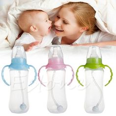 Wide Neck Anti-colic Baby Cup Milk Feeding Nipple Bottle Infant for sale online Baby Feeding Pillow, Baby Feeding Chart, Baby Feeding Schedule, Avent Baby Bottles, Glass Baby Bottles, Twin Babies, Little Babies, Colic Baby, Baby Newborn