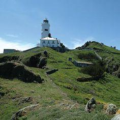 A Lighthouse Hotel: Devon, England. Via T+L (www.travelandleisure.com).