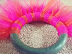 How to make a tutu wreath