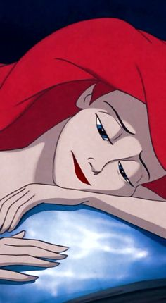 """""""everyone can feel crap, even me. I have a hard time concealing my sadness""""-Elsa to Ariel"""