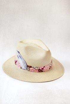 Pink Band Panama Hat - Prymal x IA