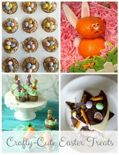 Cute Easter Desserts | Crafty + Easter Desserts | Adorable Easter Treats | Easter Treats Kids Will Love | MomTrends.com