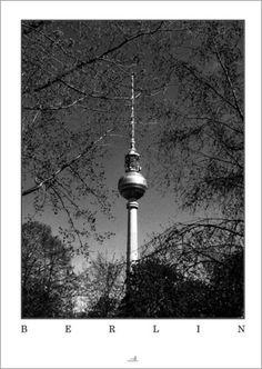 Berlin - Frühling Poster von ARTSHOT