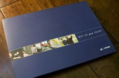 horizontal brochure design