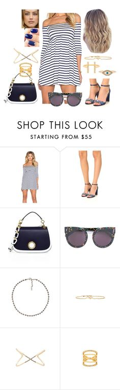 """Bez tytułu #18375"" by sophies18 ❤ liked on Polyvore featuring Rachel Pally, Badgley Mischka, MICHAEL Michael Kors, STELLA McCARTNEY, Luv Aj, Ettika, House of Harlow 1960 and Joolz by Martha Calvo"