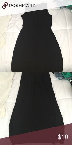 Forever 21 Maxi Dress! Beautiful forever 21 maxi dress perfect for summer! Casual and simple! Cinched waist Forever 21 Dresses Maxi