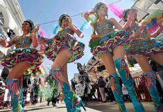 Carnaval de Oruro 2014. Foto archivo ABI