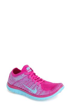 \u0026#39;Free Flyknit 4.0\u0026#39; Running Shoe (Women)