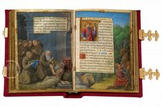 """Prayerbook of Claude de France (MS M. 1166 › Morgan Library & Museum)In the words of Roger Wieck, curator of manuscripts at the Morgan Library: """"An artistic triumph…"""" The personalized prayer book of the French queen Claude de France enchants us especially by its delicate paintings in a charmingly small format of 69 x 49 mm, and even more so by the unusual wealth of illustration it contains."""