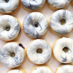 For you marble lovers, you can eat it now in donut form  Pinterest// Plumb Worn Out
