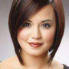 50 cute looks with short hairstyles for round faces Short asymmetric bob with pony 50 cute looks with short hairstyles for round faces # Round Face Fix. Edgy Pixie haircut 30 Best Short Hairstyles for Round Faces Hairstyles For Fat Faces, Angled Bob Hairstyles, Cute Hairstyles For Short Hair, Straight Hairstyles, Latest Hairstyles, Gorgeous Hairstyles, Simple Hairstyles, Hairstyles 2018, Trendy Hair