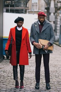 Are they the most stylish couple ever? They obviously are European, of course.