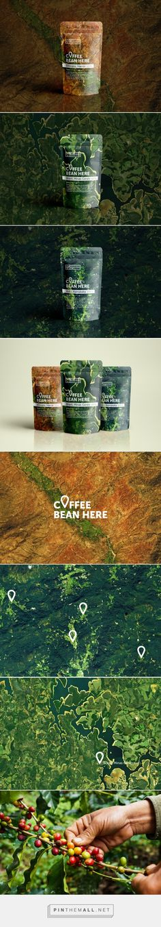 Coffee Bean Here - Packaging of the World - Creative Package Design Gallery - http://www.packagingoftheworld.com/2018/01/coffee-bean-here.html