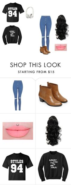 """Elizabety's Look"" by ana-horan-lovato on Polyvore featuring moda, Topshop, Warehouse e Beats by Dr. Dre"