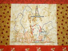 Country Garden Stitchery: Little Witch Embroidery Pattern and Bitter Harvest