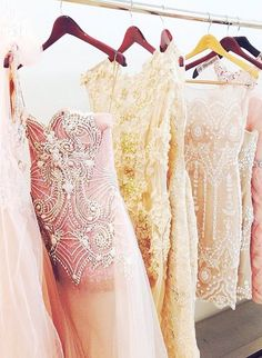 { embellished gowns }