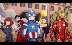 Captain America The Winter Soldier Todoroki Sketches - [MHA Characters and themes belong to Kohei Horikoshi, MCU Characters, themes, story…