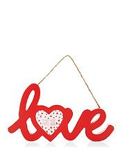 Red (Red) Red Love Hanging Photoframe | 299965160 | New Look @New Look