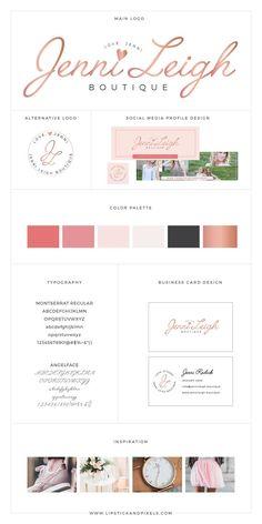 Custom Brand Design // Custom logo design